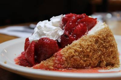 Cheesecake served at Italian restaurant for sale in St. Louis Mo